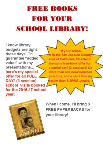 free books for school library infographic