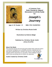joseph's journey teacher's guide COVER ONLY