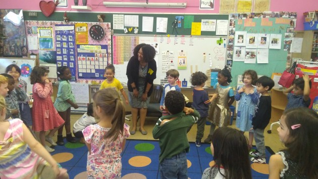 name introductions with ms. loves class
